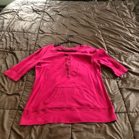Arizona Jean Co. XL woman's pink top